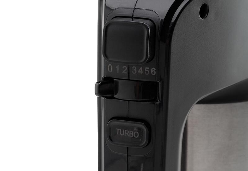 6 nastavitev hitrosti in turbo funkcija