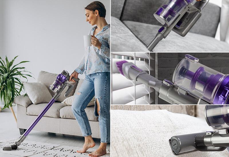 3 dodatni nastavki za popolni napad na prah in umazanijo v vašem domu