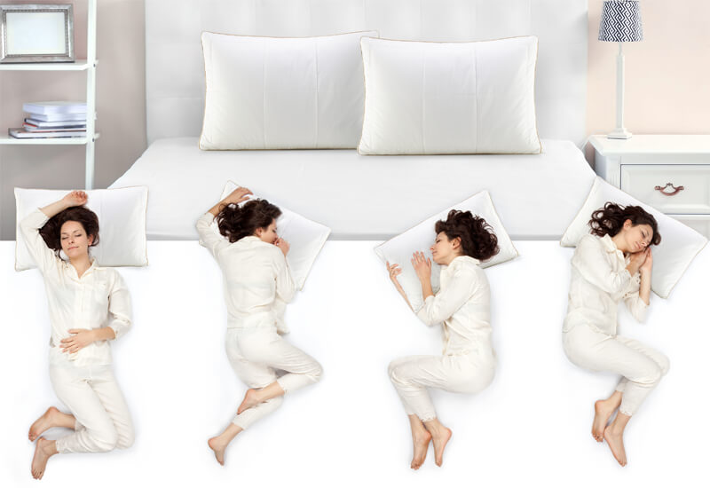 Idealna izbira ne glede na položaj spanja