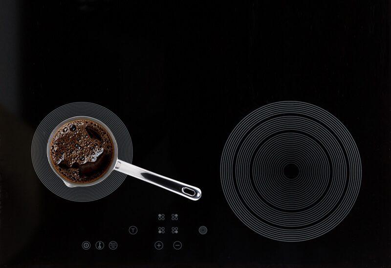 Primerna za uporabo na vseh vrstah kuhalnih površin, tudi indukciji