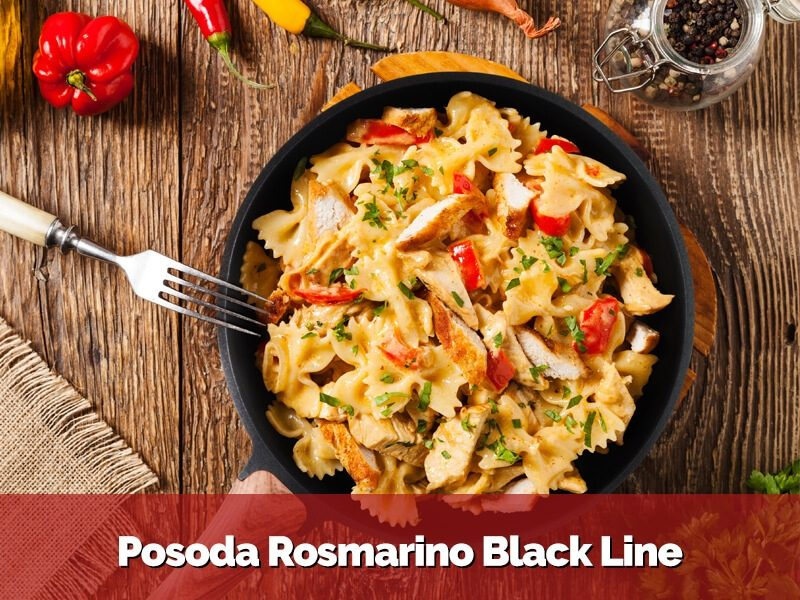 Posoda Rosmarino Black Line