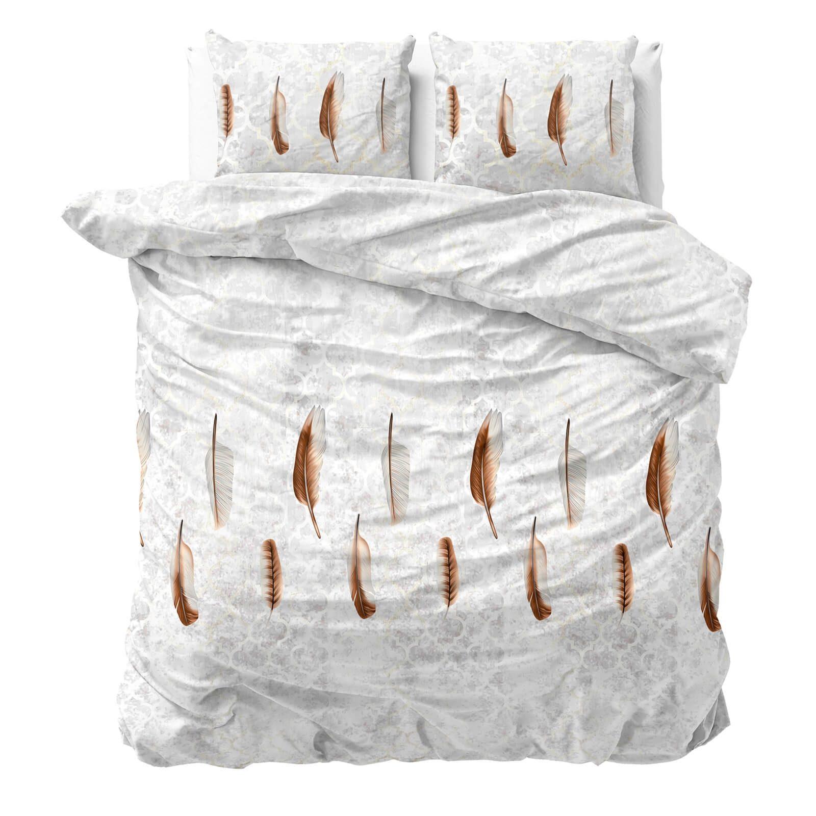 Bombažno-satenasta posteljnina Svilanit Feather