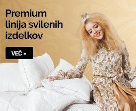 Premium linja izdelkov iz svile