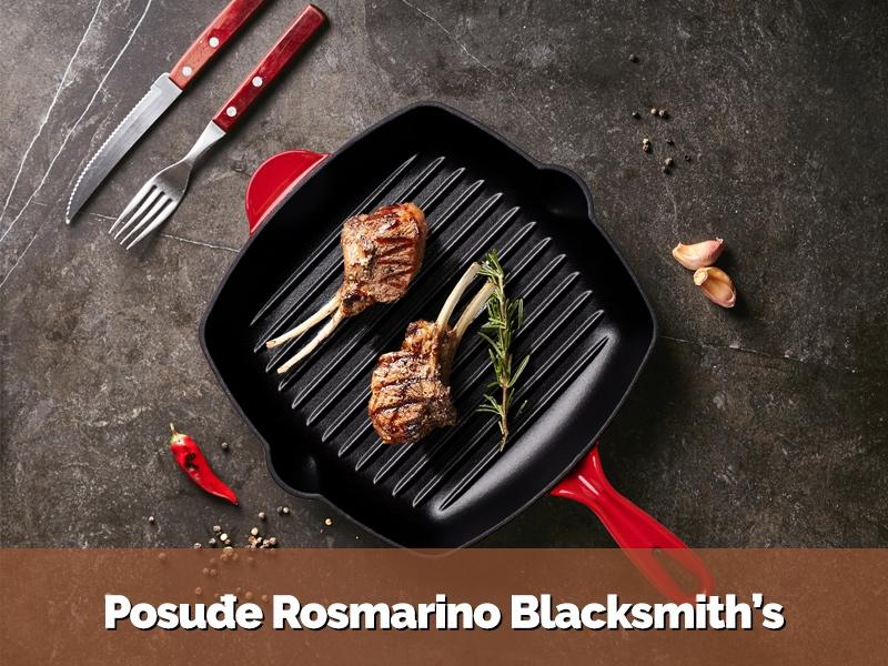 Posuđe Rosmarino Blacksmith's