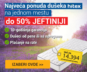 Vitapur dušeci do -50%