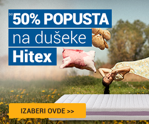 Hitex dušeci do -50%